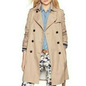 GAP Tan Trench Coat